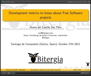 Bitergia LSWC12 Slides