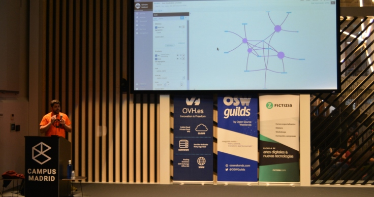 Community network analysis demo