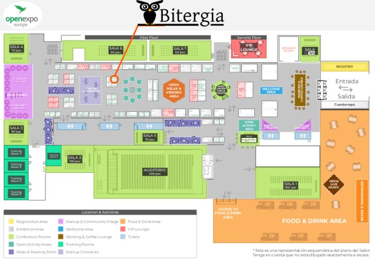 OpenExpo2018 map